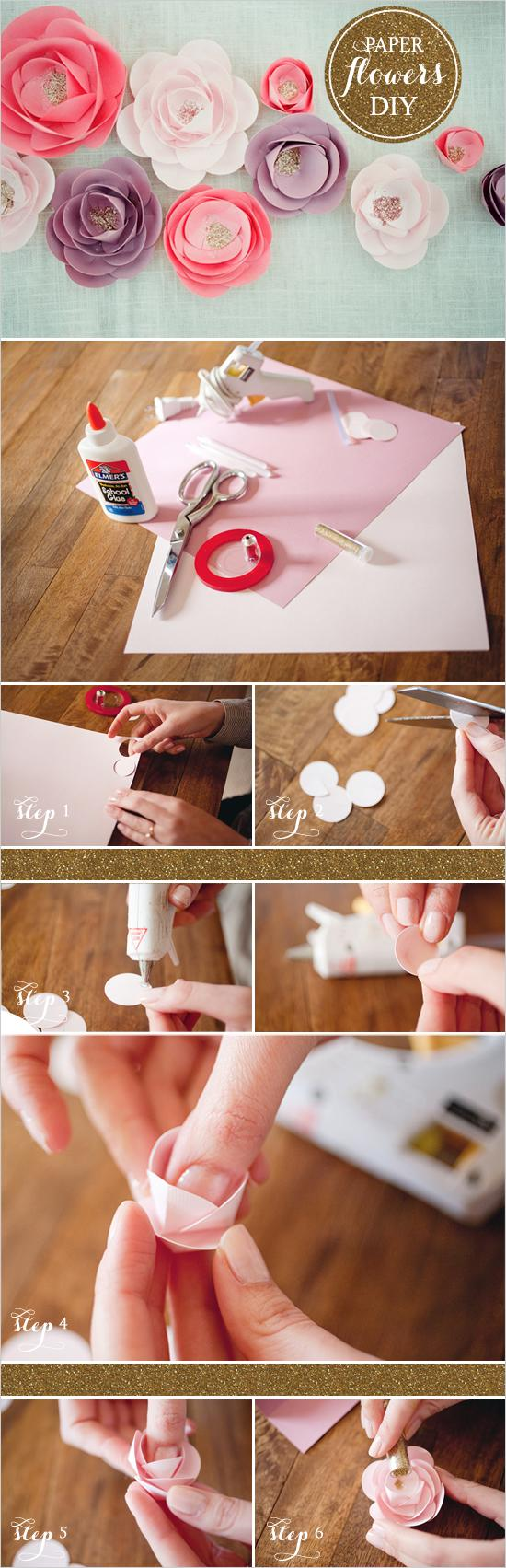 Diy paper flowers tutorials philly in love paper flowers 02 paper flowers diy wedding chicks solutioingenieria Image collections