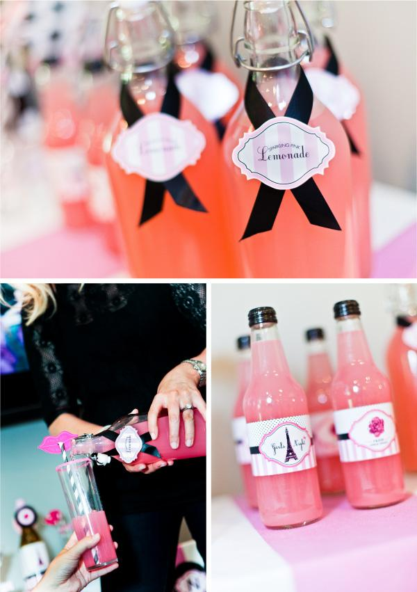 parisian-themed-girls-night-in-drink-labels