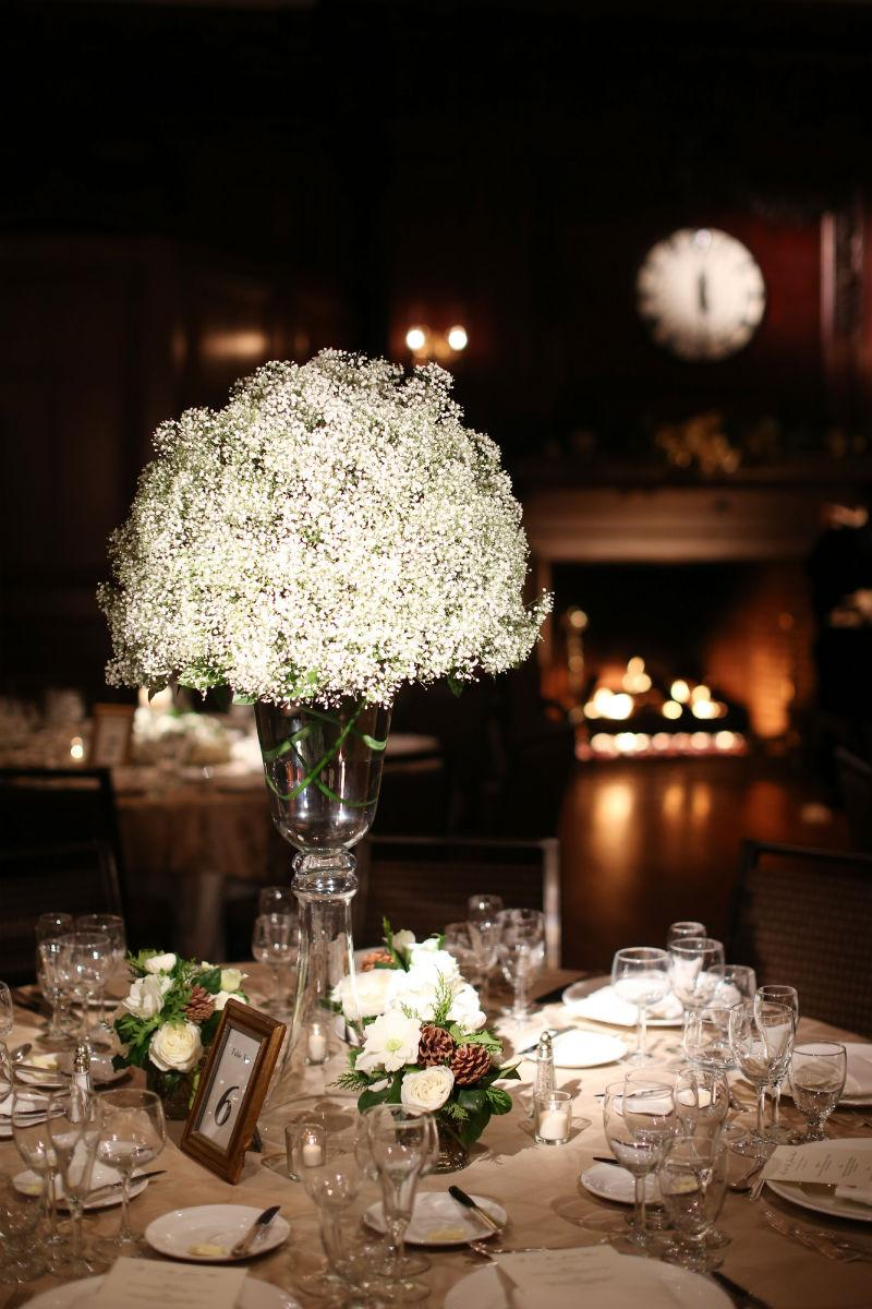 Philadelphia-Wedding-Planner-Event-Planning-New-Jersey-Delaware-Babys-breath-centerpieces-union-League-of-philadelphia