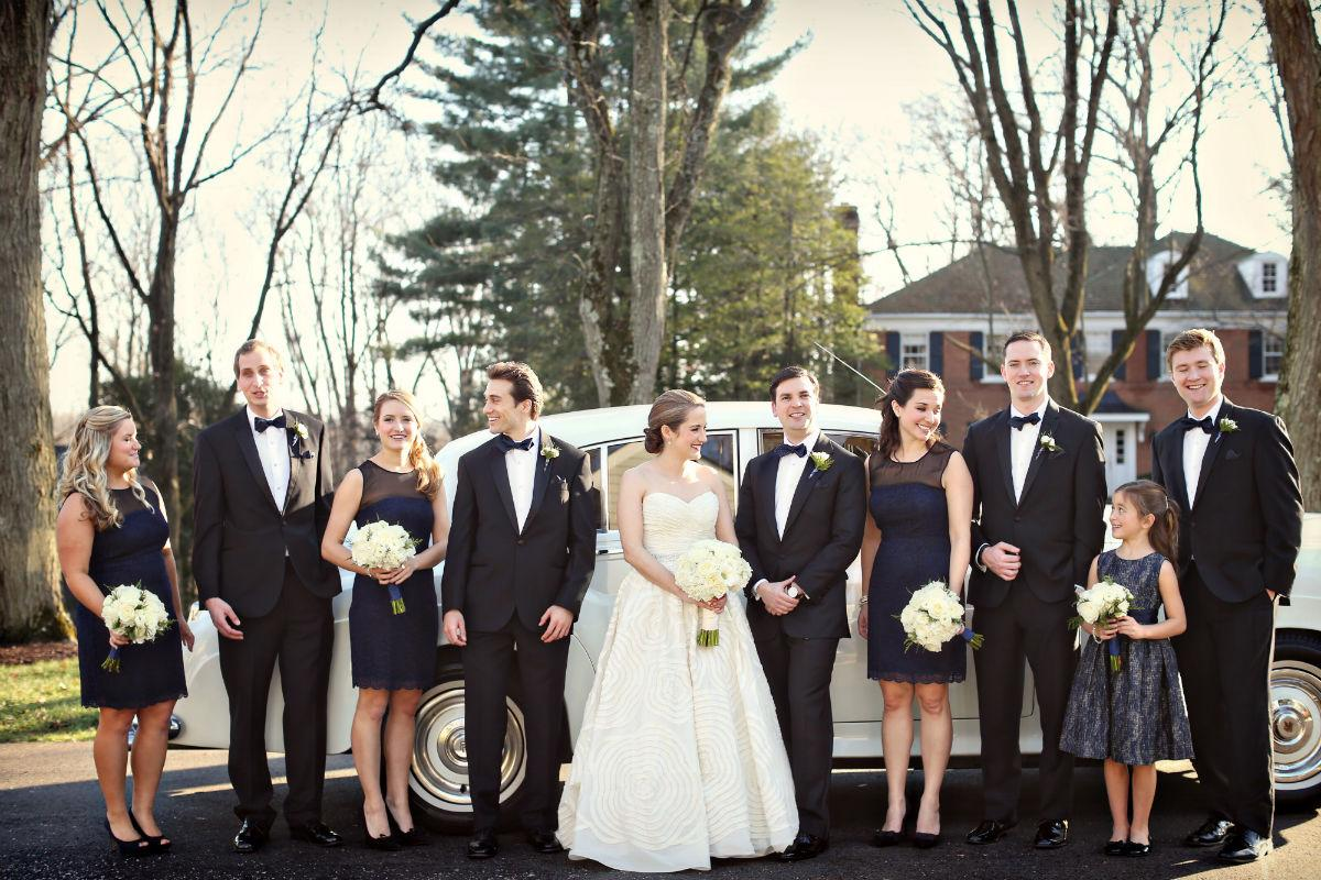 Philadelphia-Wedding-Planner-Event-Planning-Pennsylvania-New-Jersey-Delaware-Navy-Bridesmaid-Dresses