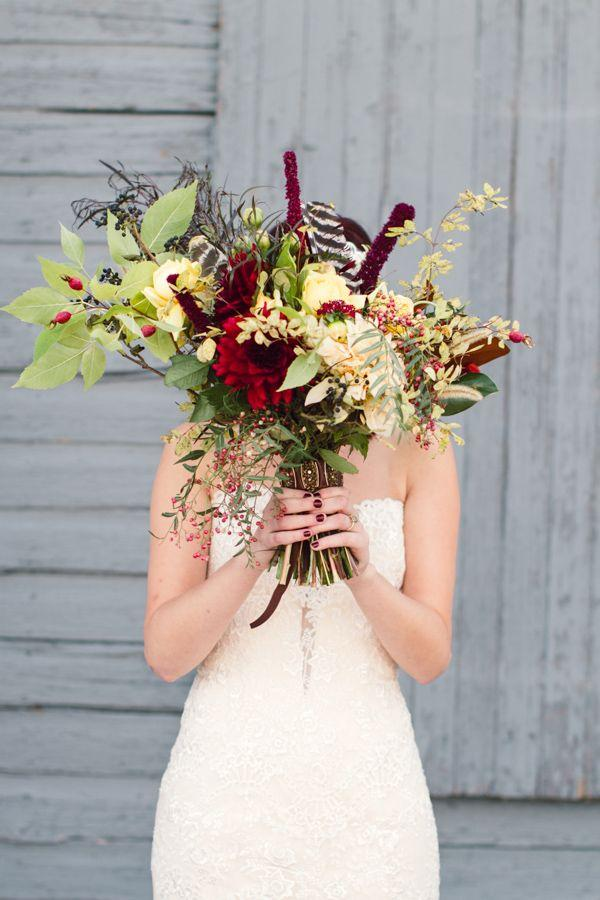 Autumn Wedding Bouquet Inspiration | Philly In Love