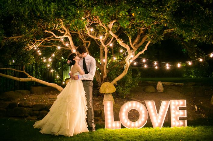 Diy wedding inspiration marquee lights philly in love for Diy wedding reception lighting