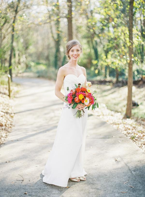 southern-wedding-simple-wedding-gown