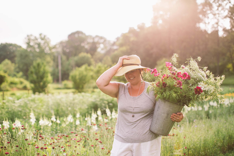 Jennie Love at Farm