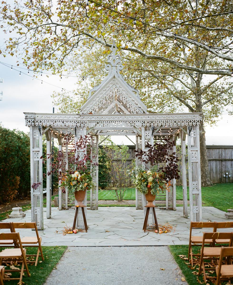 Indian Wedding Temple In The Fall Photo By Ash Imagery