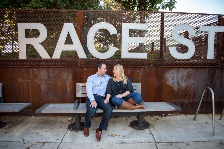 Race Street Pier Engagement Session Bee Dee Blue Photography