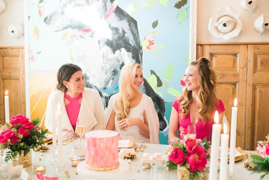 Modern + Feminine Bridal Shower Brunch Philly In Love Best of Inspiration 2016