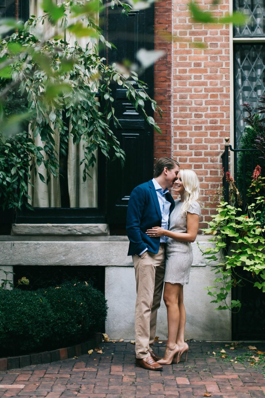 Rittenhouse Engagement Brittney Raine Photography