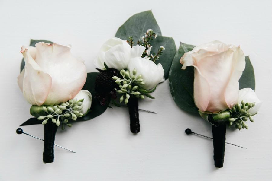Boutonniere Philadelphia Wedding