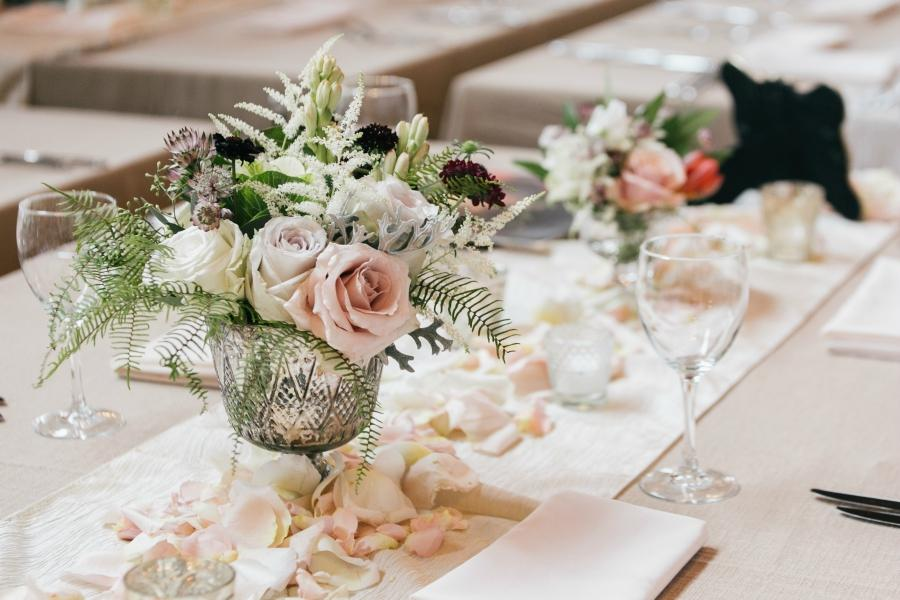 Wedding Tablescape Philadelphia Wedding The Yardley Country Club Papertini Floral Event Design