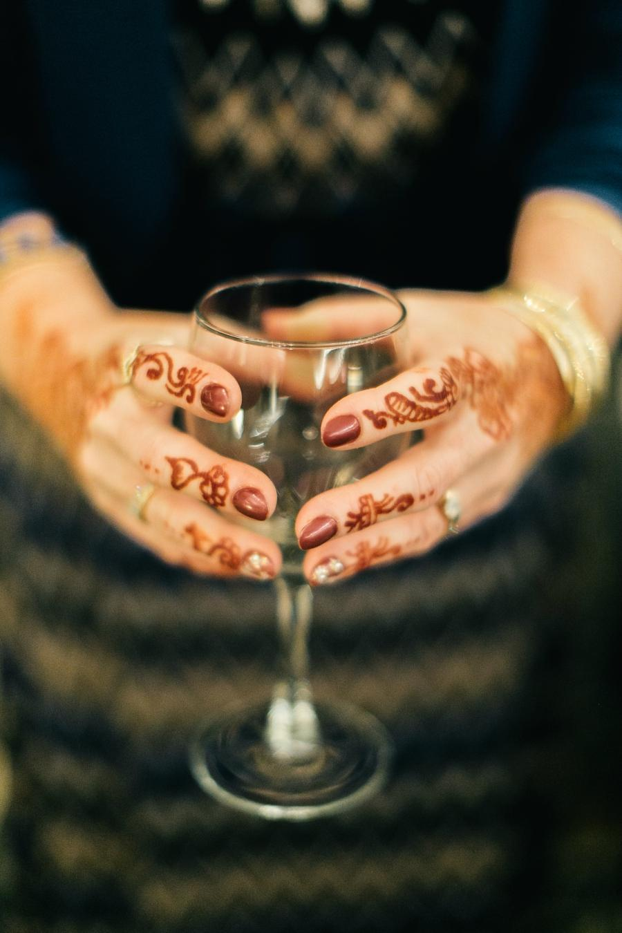 Henna Philadelphia Wedding The Yardley Country Club Papertini Floral Event Design