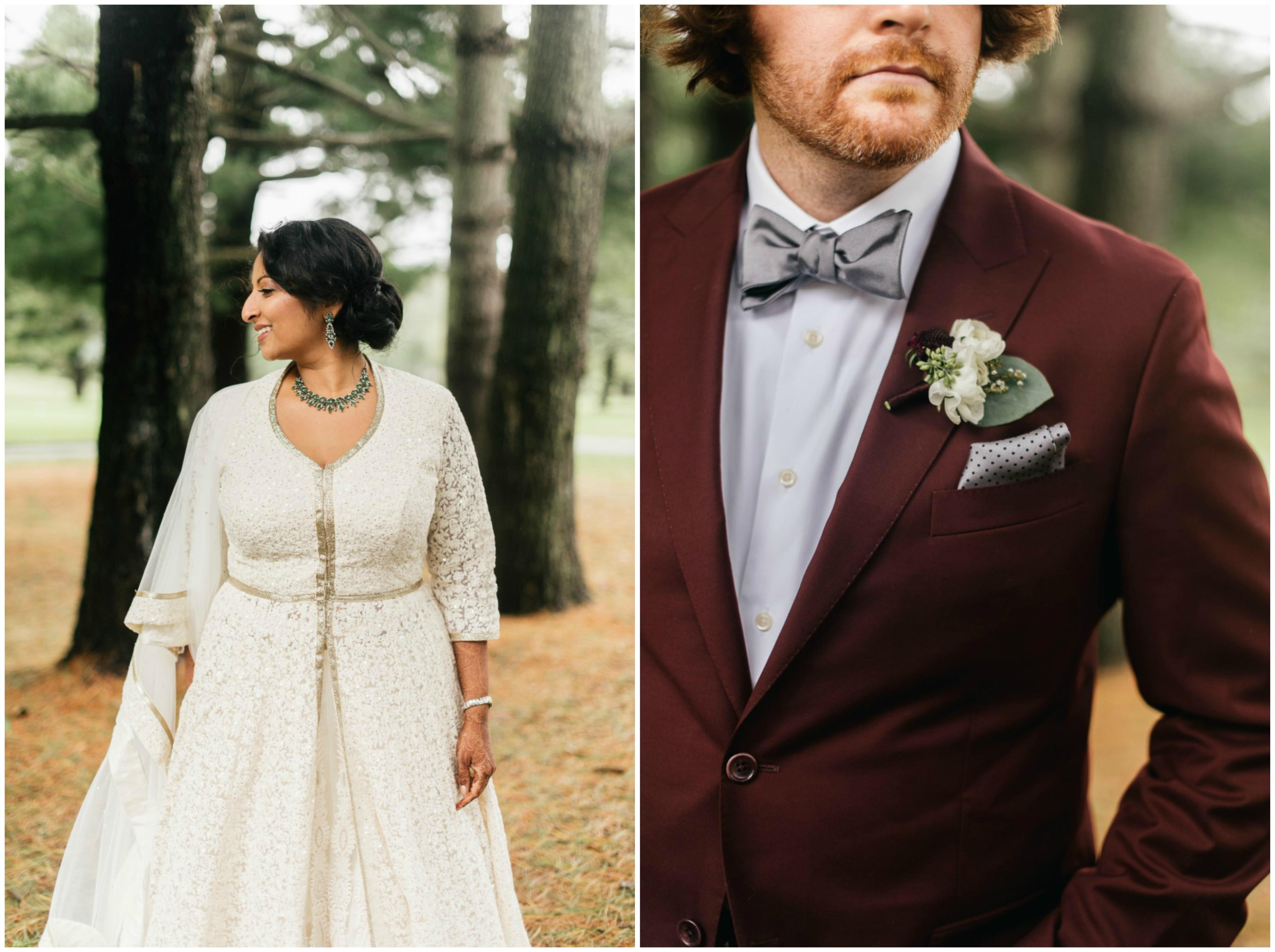 Anu and Paul Philadelphia Wedding The Yardley Country Club Papertini Floral Event Design