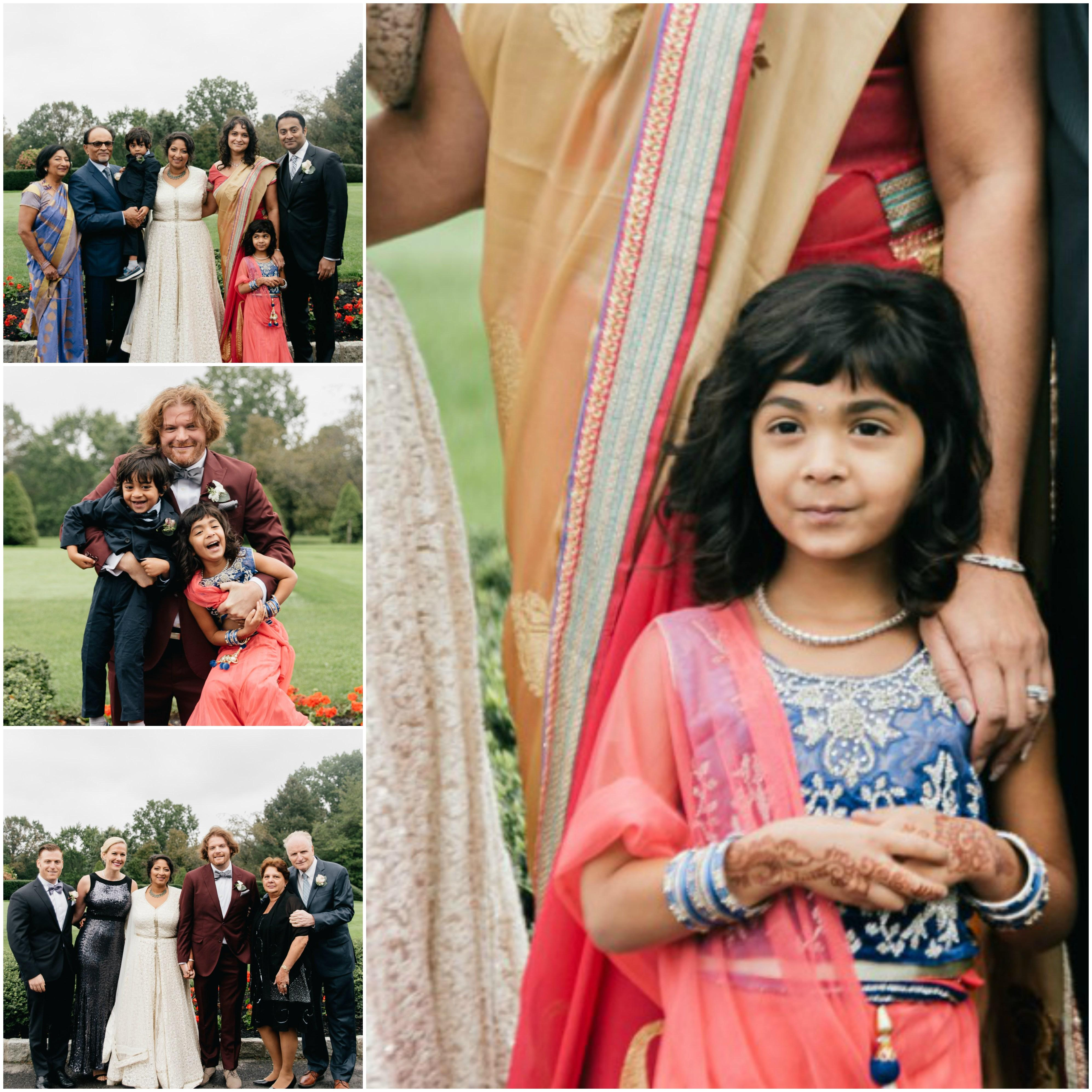 Family Wedding Flower Girl Philadelphia Wedding The Yardley Country Club Papertini Floral Event Design