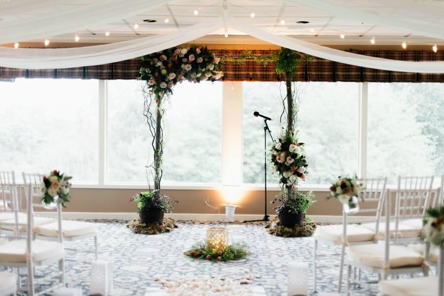 Floral Arch Philadelphia Wedding The Yardley Country Club Papertini Floral Event Design