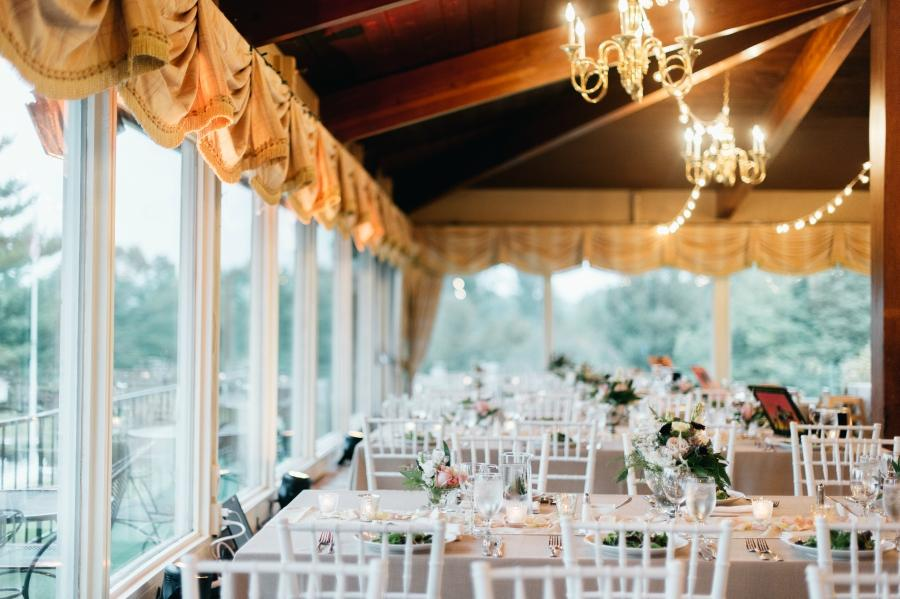 Wedding at The Yardley Country Club Papertini Florals