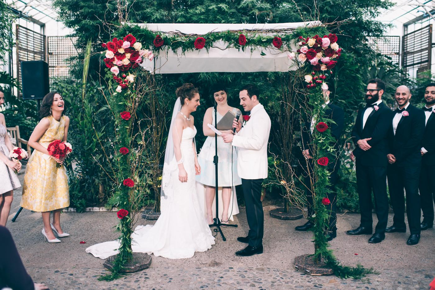 Whimsical Wedding at The Fairmount Park Horticulture Center by GraceD Photography Philly In Love Best of Weddings 2016