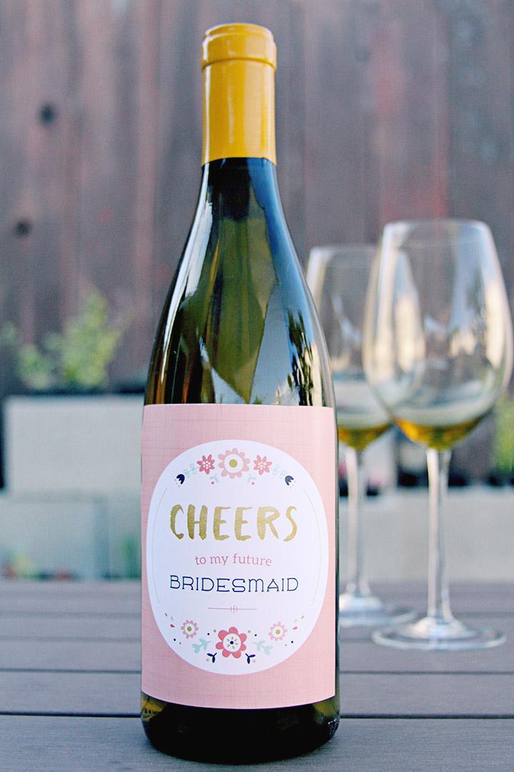 bridesmaid-wine-label