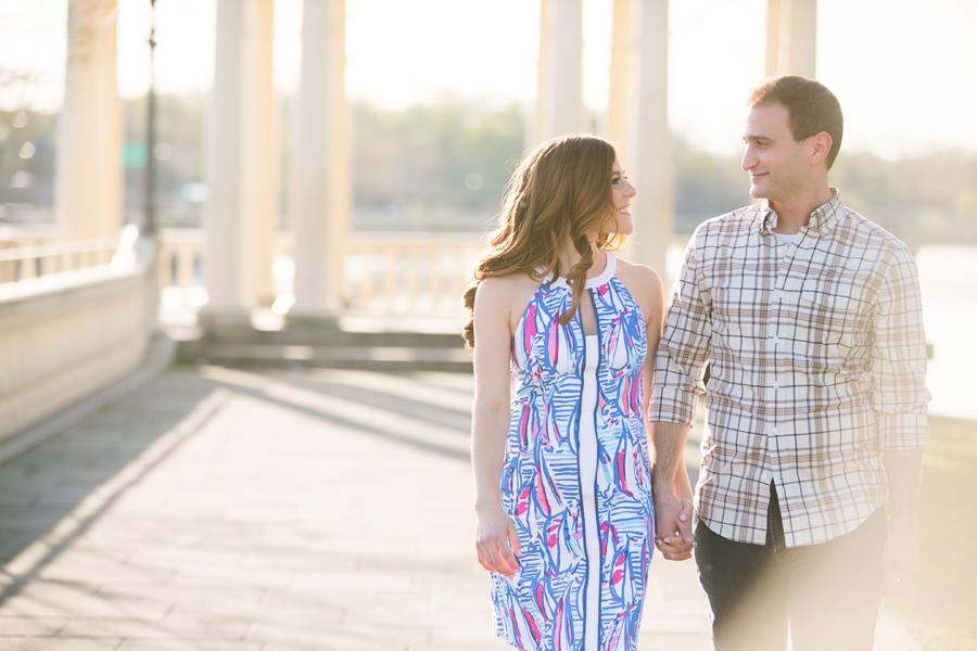 Lindsay Docherty Photography Water Works Engagement Session