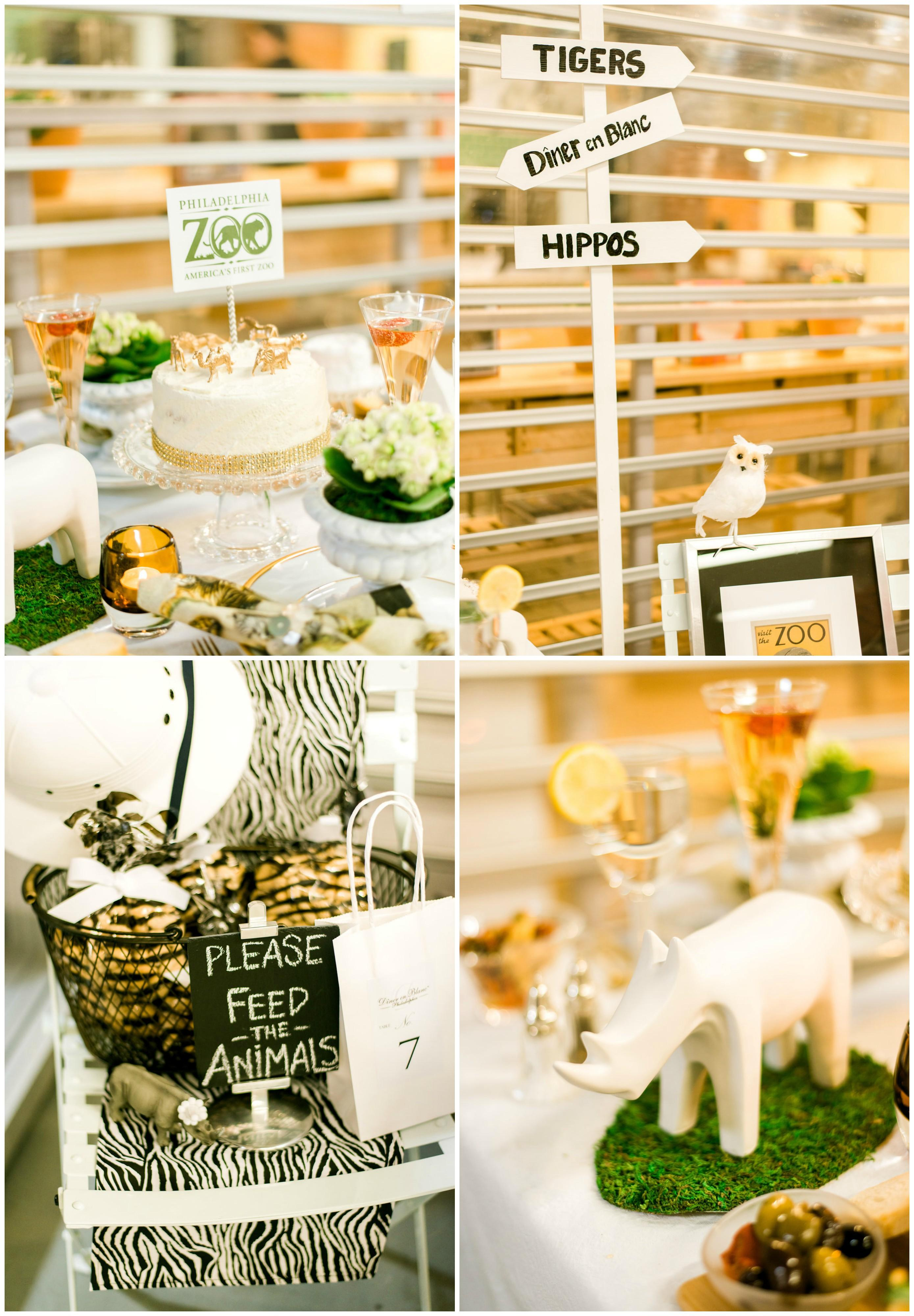Diner en Blanc Zoo