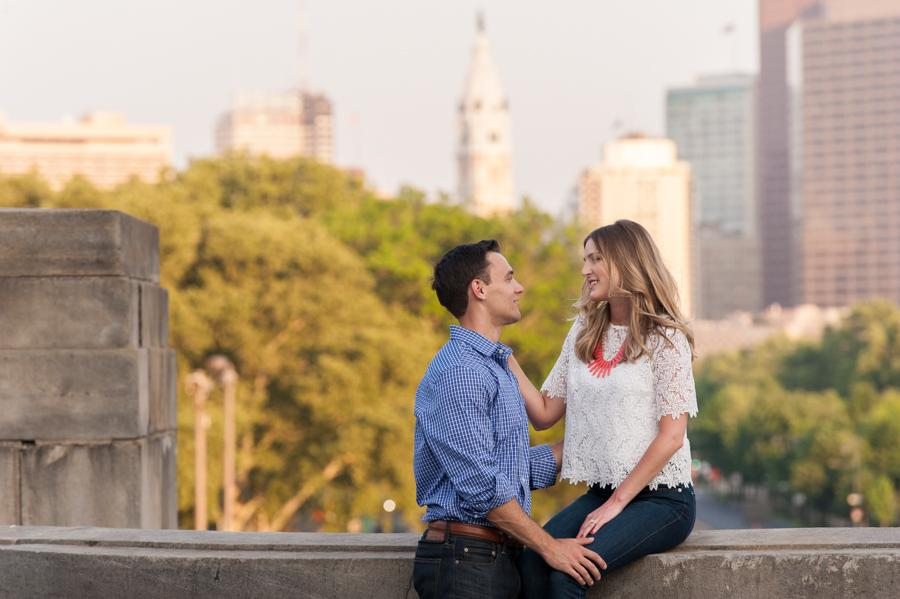 Noreen Turner Photography Philadelphia Engagement Session Philly In Love