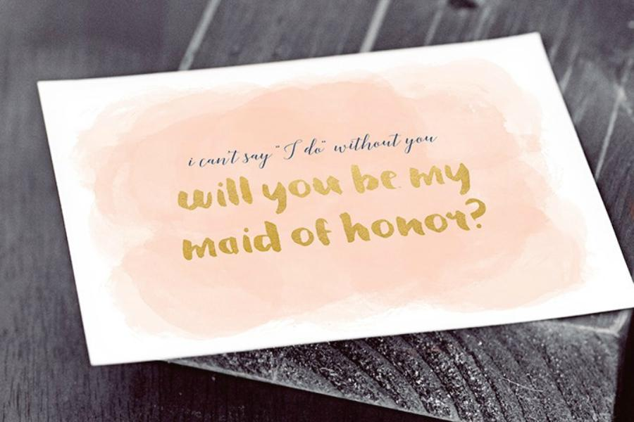 will you be my bridesmaid creative bridesmaid proposal ideas