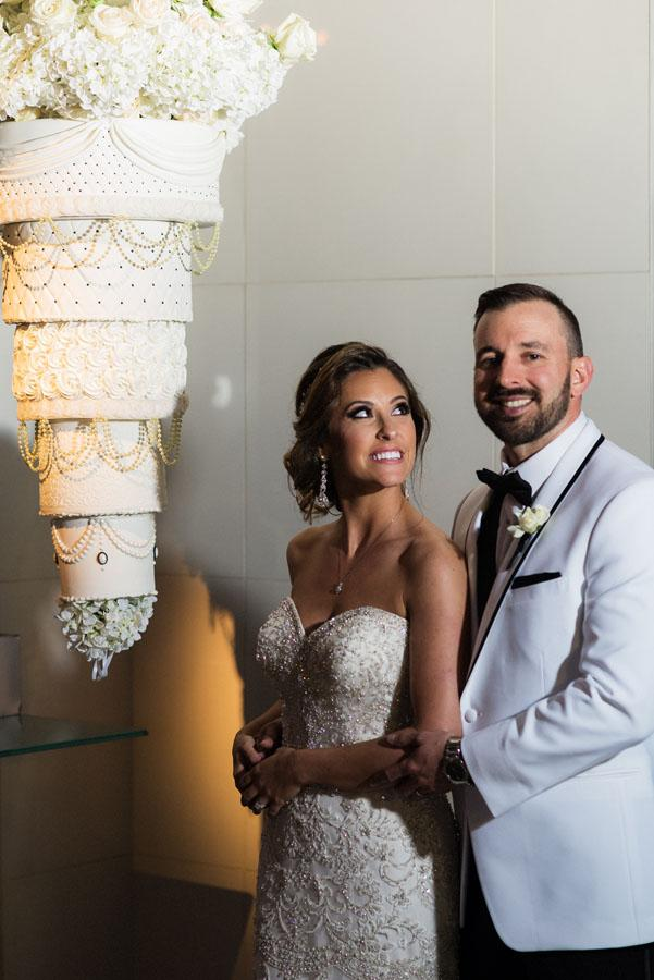 Michele and Matt's Lavish Wedding at Tendenza by Lori Foxworth of George St. Photo and Video Philly In Love Best of Weddings 2016