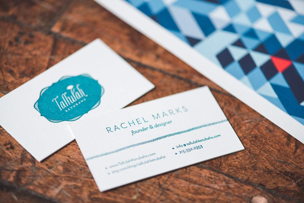 Tallulah Ketubahs.Business Cards