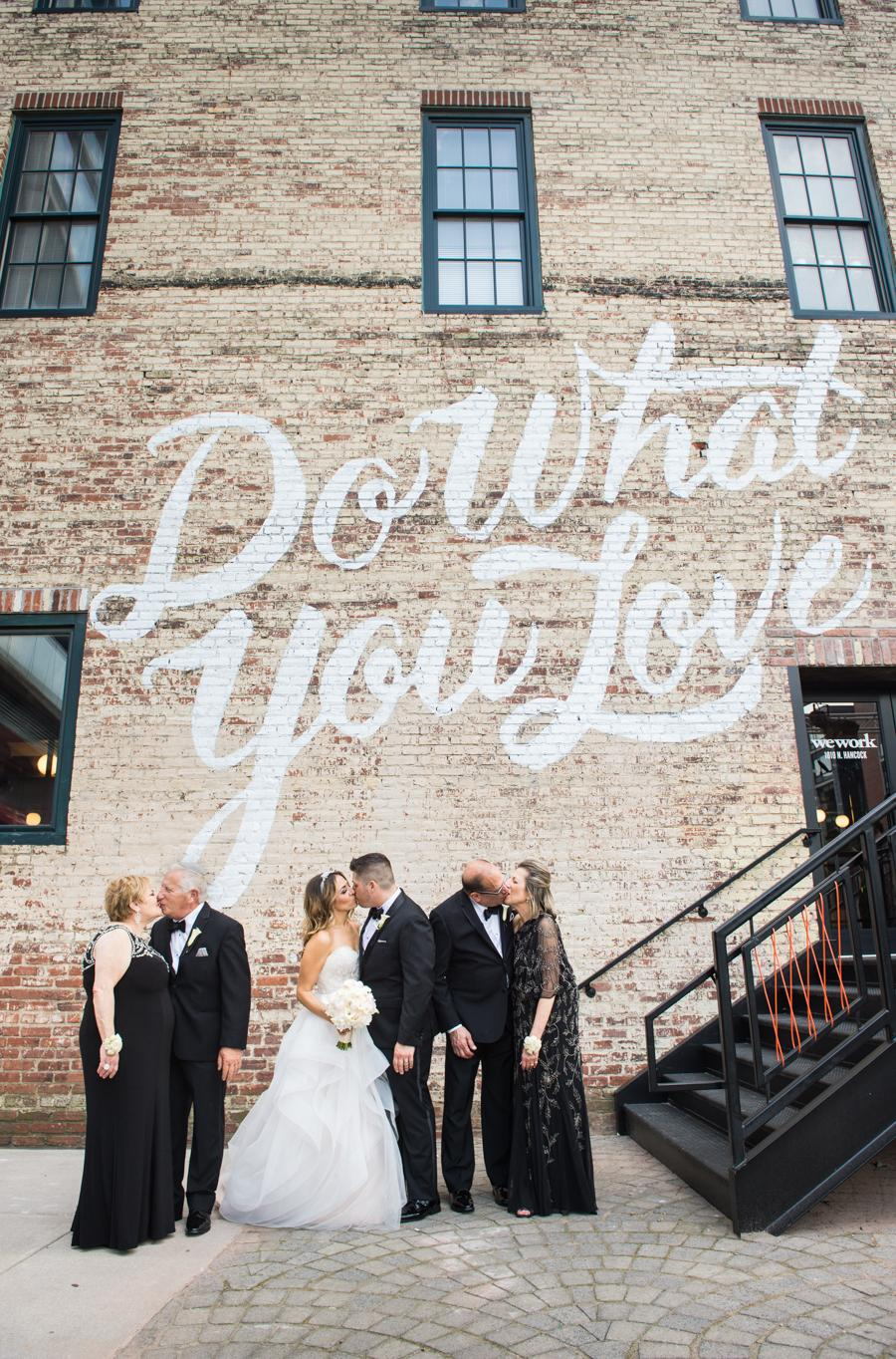 Charming Modern Wedding at Tendenza by Bee Dee Blue Photography Philly In Love Best of Weddings 2016