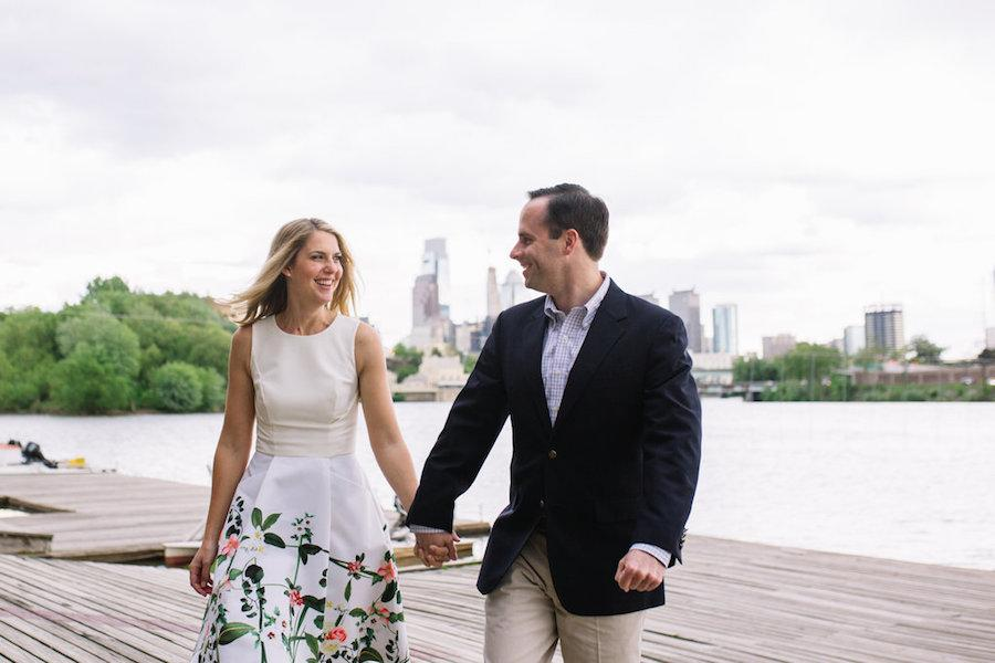 Brittney Raine Photography Vesper Boat Club Engagement Philly In Love
