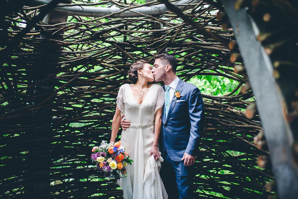 Garden Wedding At The Morris Arboretum By Graced Photography