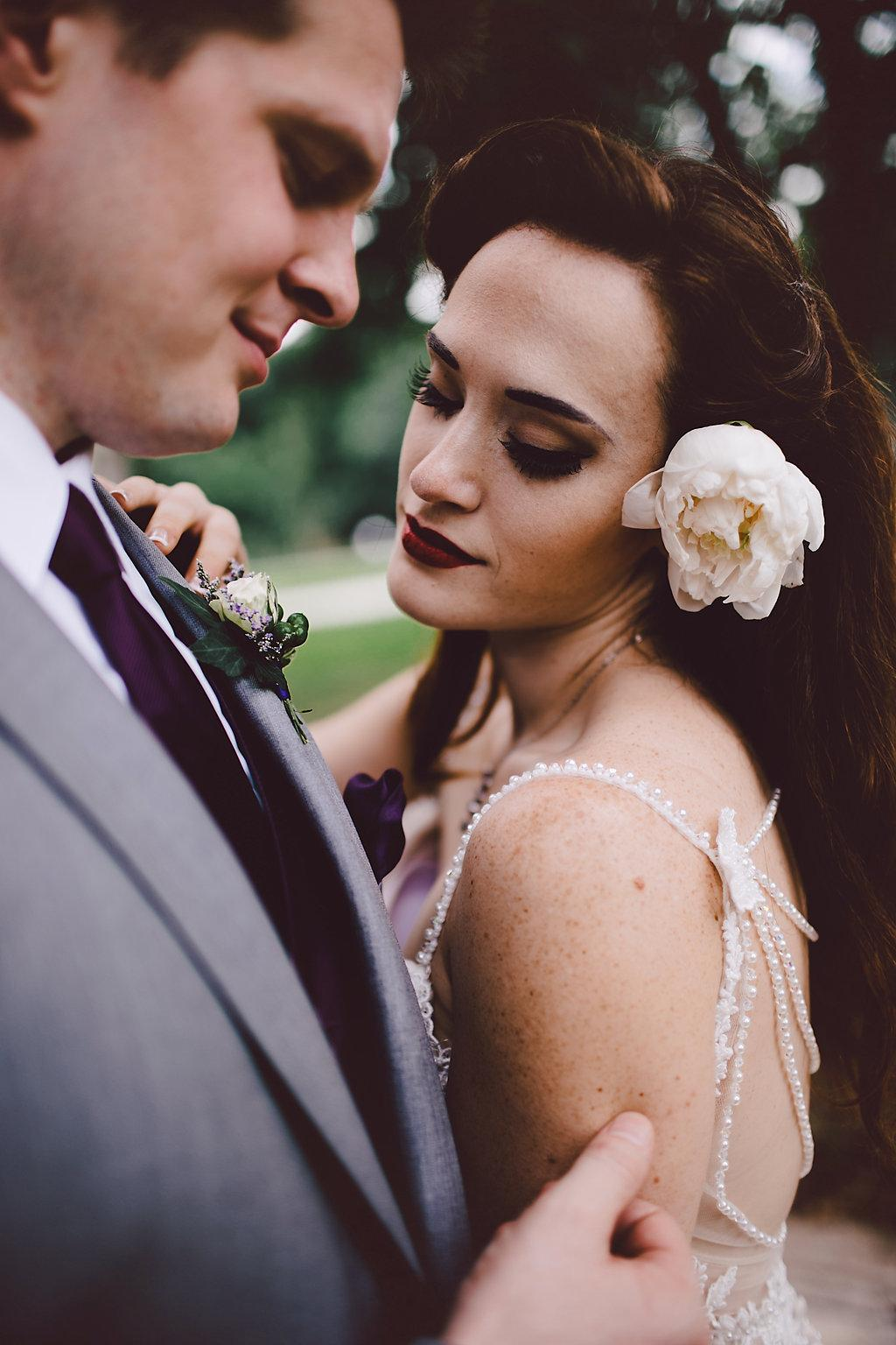 Bridgette and Scott's Wildly Romantic Wedding by Sarah B. Photography Philly In Love Best of Weddings 2016
