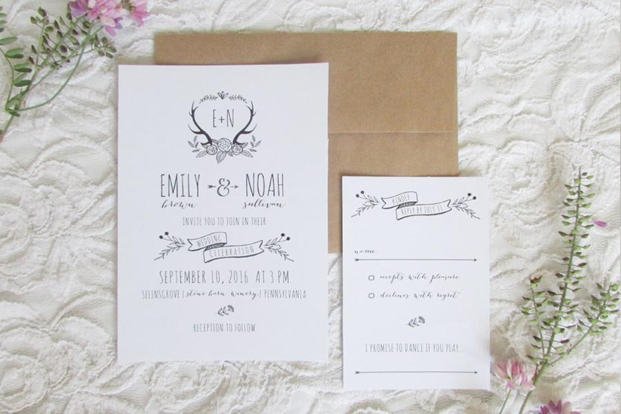 jacqueline dziadosz invitations design philly in love
