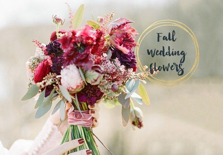 33 Fall Flowers For Your Wedding
