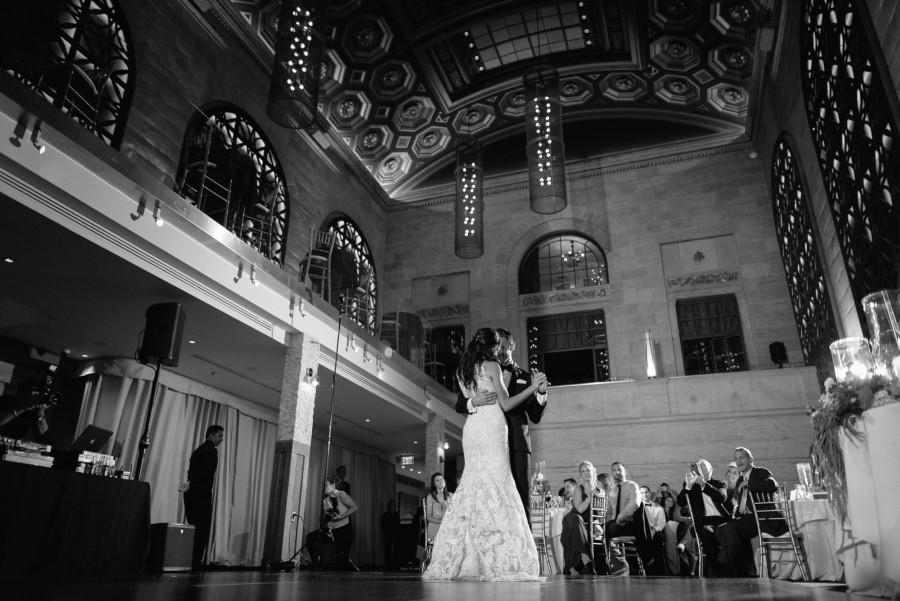 great gatsby wedding : megan & trent