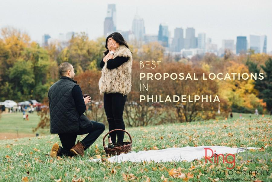 Best Proposal Locations in Philadelphia by RingShot Photography