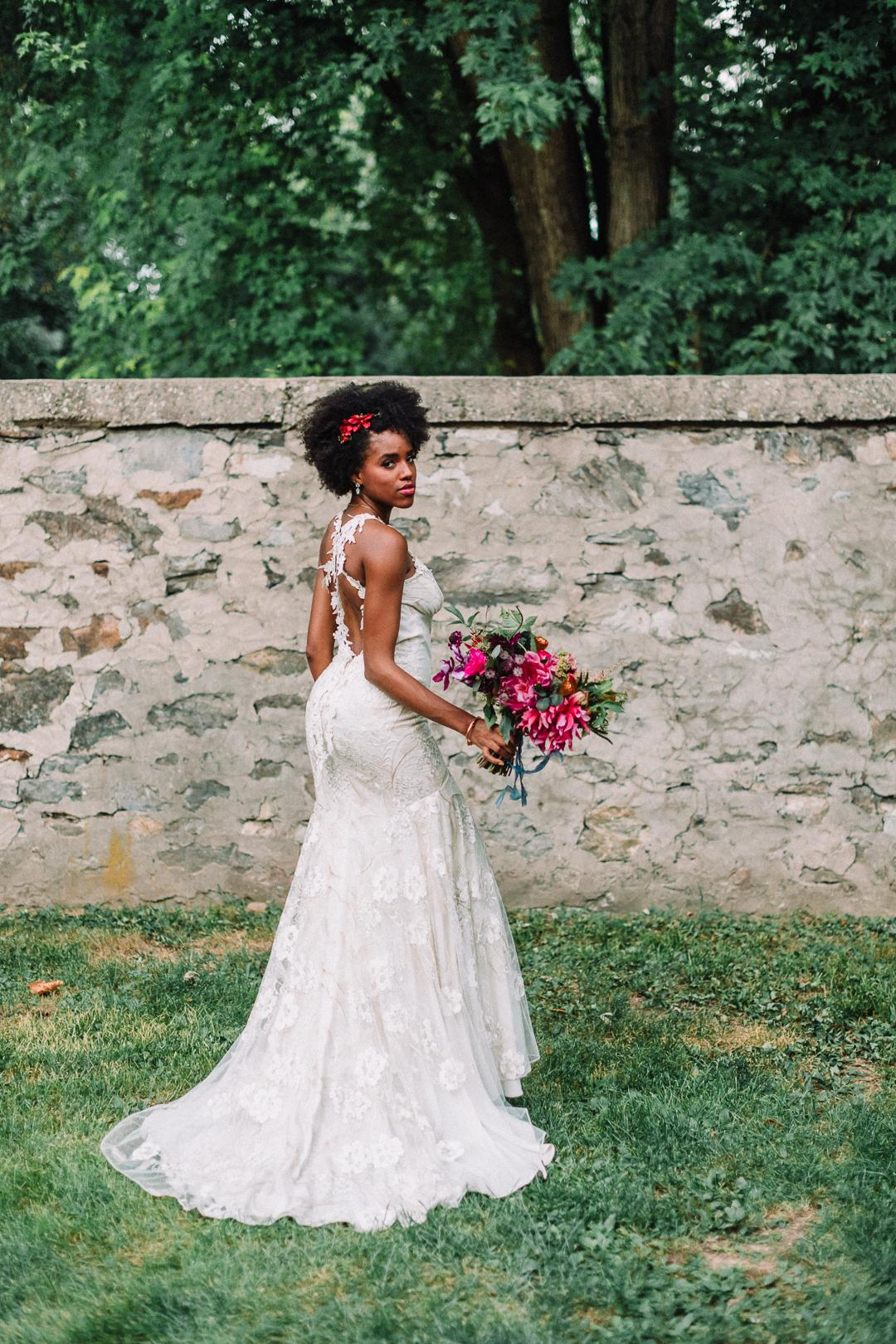 Claire Pettibone Nina Lily Photo Fox and Finch Vintage Rentals Papertini Philadelphia Weddings Philly In Love