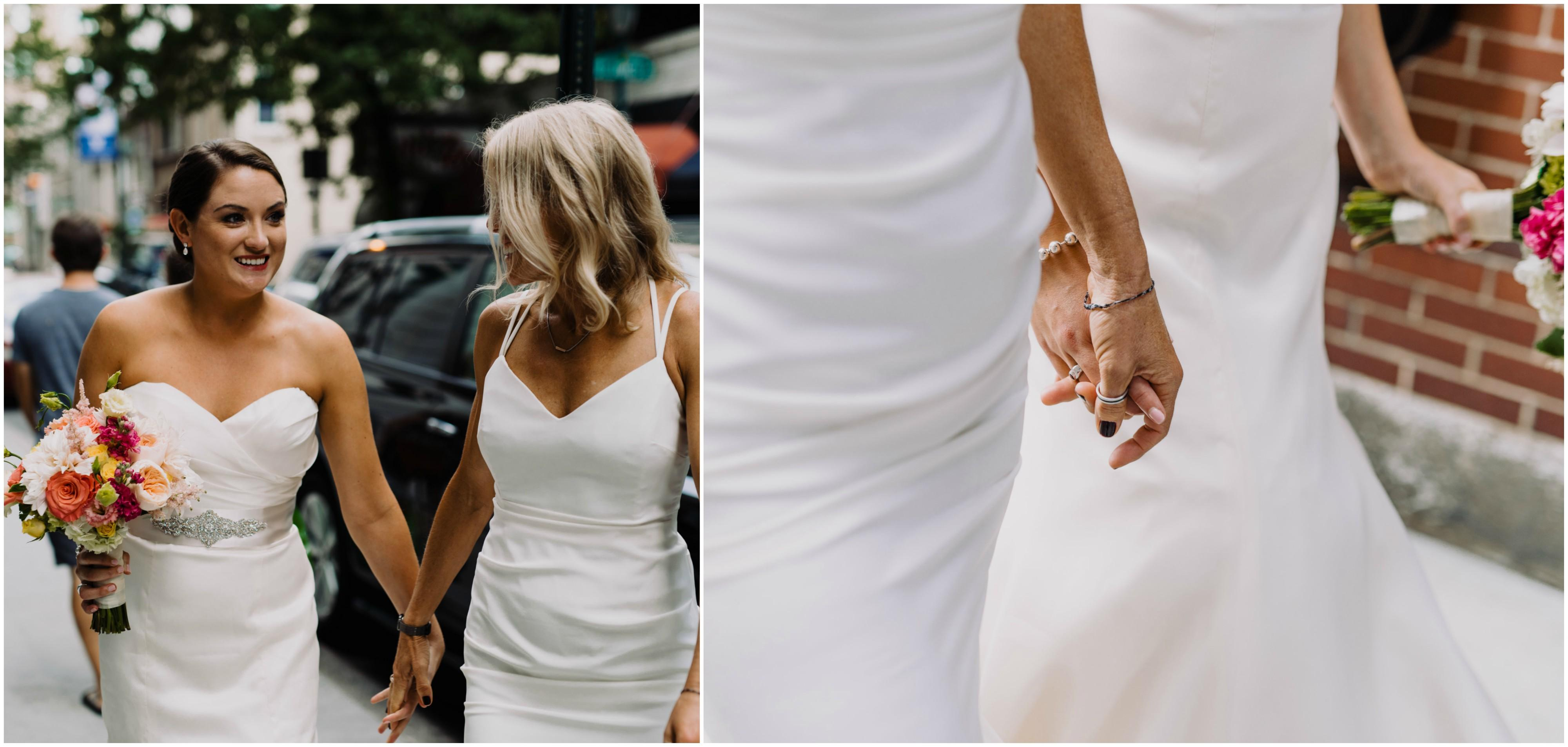 Shannon and Ruth\'s Intimate Wedding at Talula\'s Garden by Viva Love ...