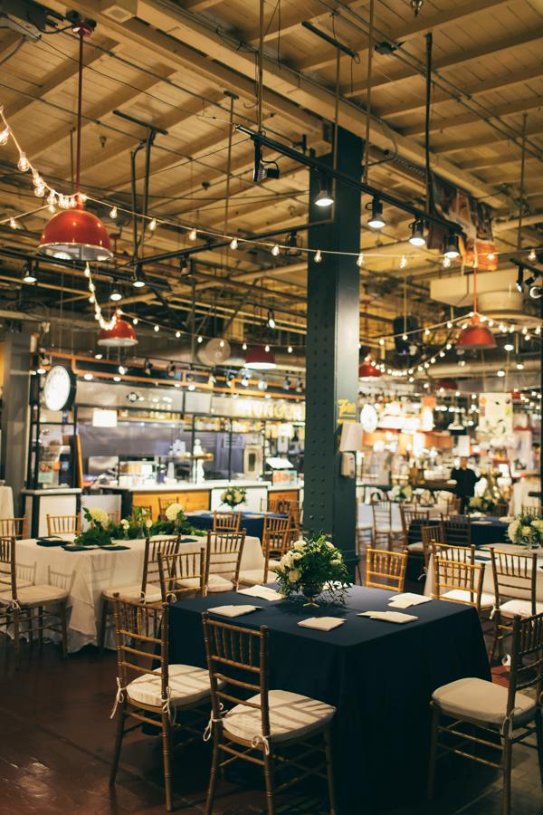Modern Unique Wedding At The Reading Terminal Market Philly In Love