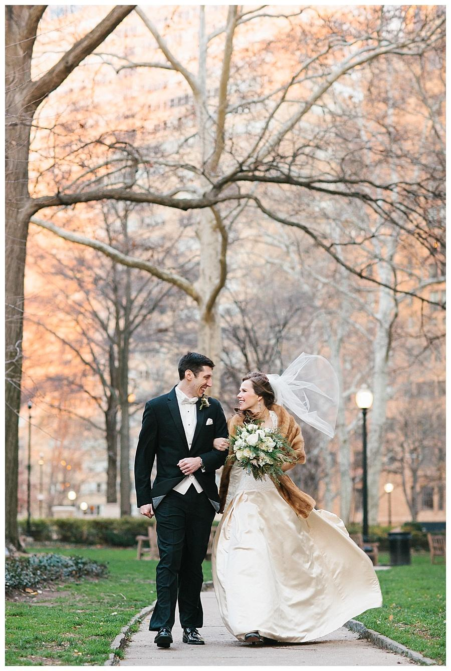 Winter Wedding at The Racquet Club of Philadelphia by Sweetwater Portraits