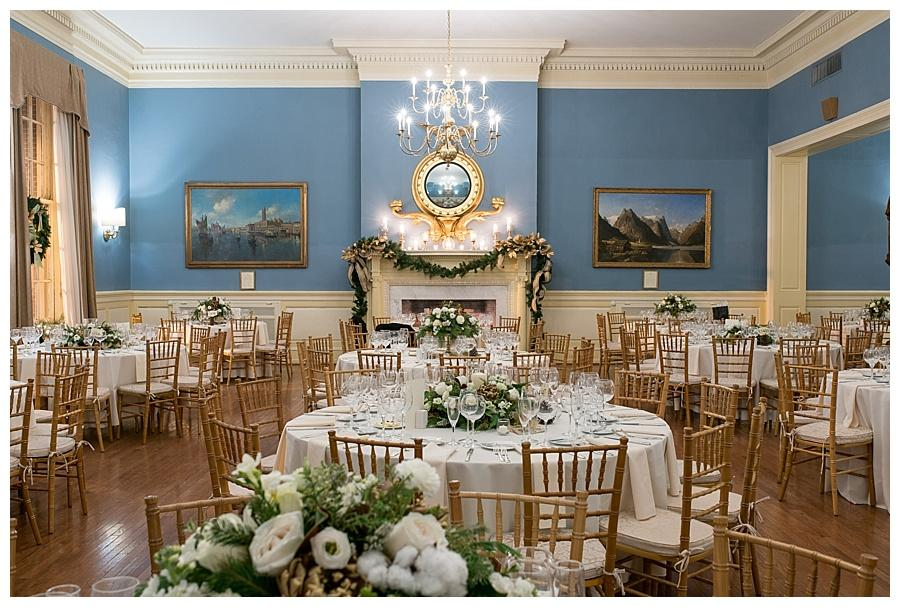 Winter Wedding At The Racquet Club Of Philadelphia By Sweeer Portraits