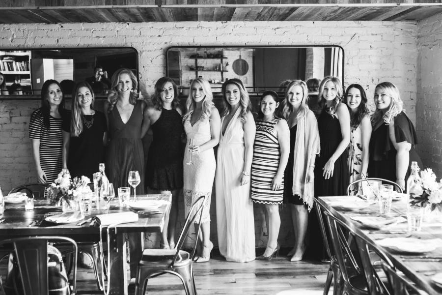 Rehearsal Dinner at Barbuzzo by Brittney Raine Photography Philly In Love Philadelphia Wedding