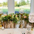 Romantic Wedding at The Philadelphia Cricket Club by La Petite Fleur