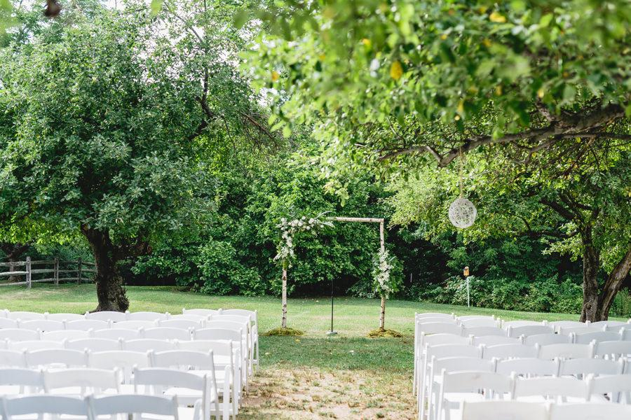 Garden Party Wedding at John James Audobon Center by Bartlett Pair Photography Philly In Love Philadelphia Weddings