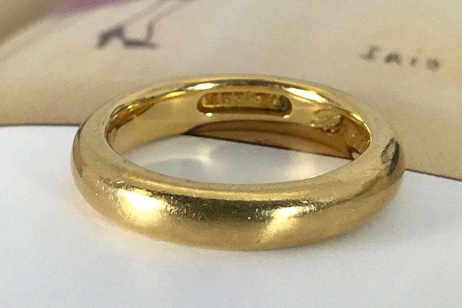1921 22k Gold Ring