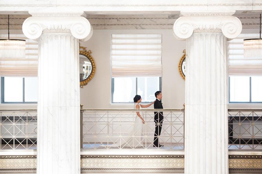 Modern Wedding at The Kimmel Center by Asya Photography Philadelphia Wedding Philly In Love