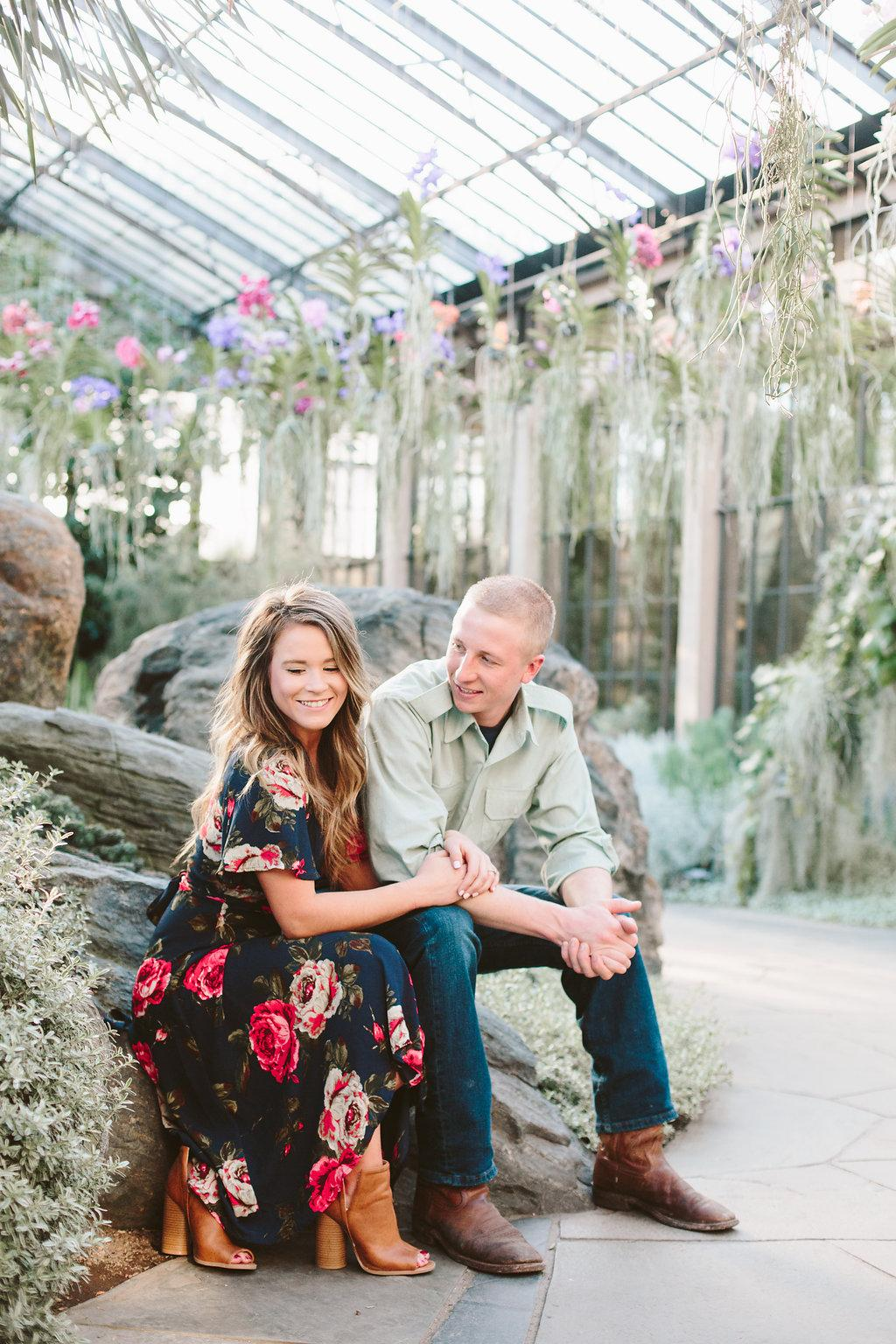 Longwood Gardens Engagement Session by Paige Victoria Photography Philly In Love Philadelphia Weddings
