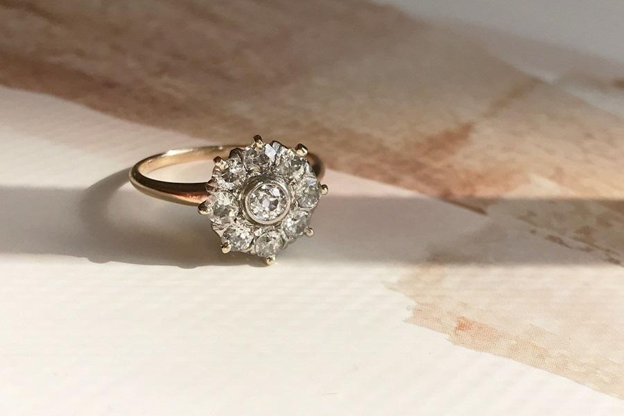 Used Wedding Rings.5 Vintage Engagement Ring Ideas For The Alternative Bride Philly