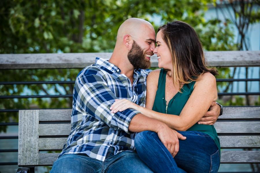 Race Street Pier Engagement Session by Krista Patton Photography Philly In Love Philadelphia Weddings