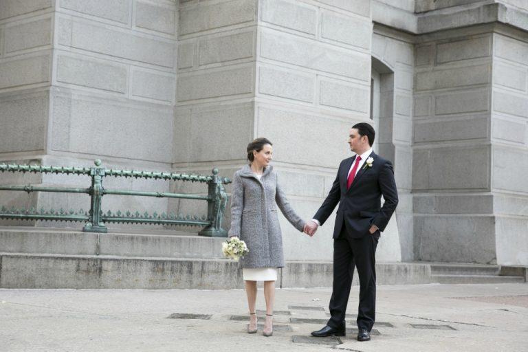 Intimate Philadelphia City Hall Wedding by Heidi Roland Photography Philadelphia Photographer Philly In Love Philadelphia Weddings