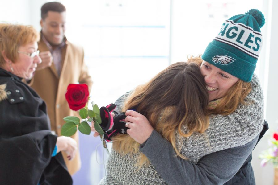 Tami and Ryan Photography Surpise Proposal Philadelphia Philly In Love Philadelphia Weddings